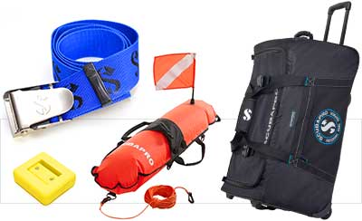 Accesorii pentru echipamentul de scafandru