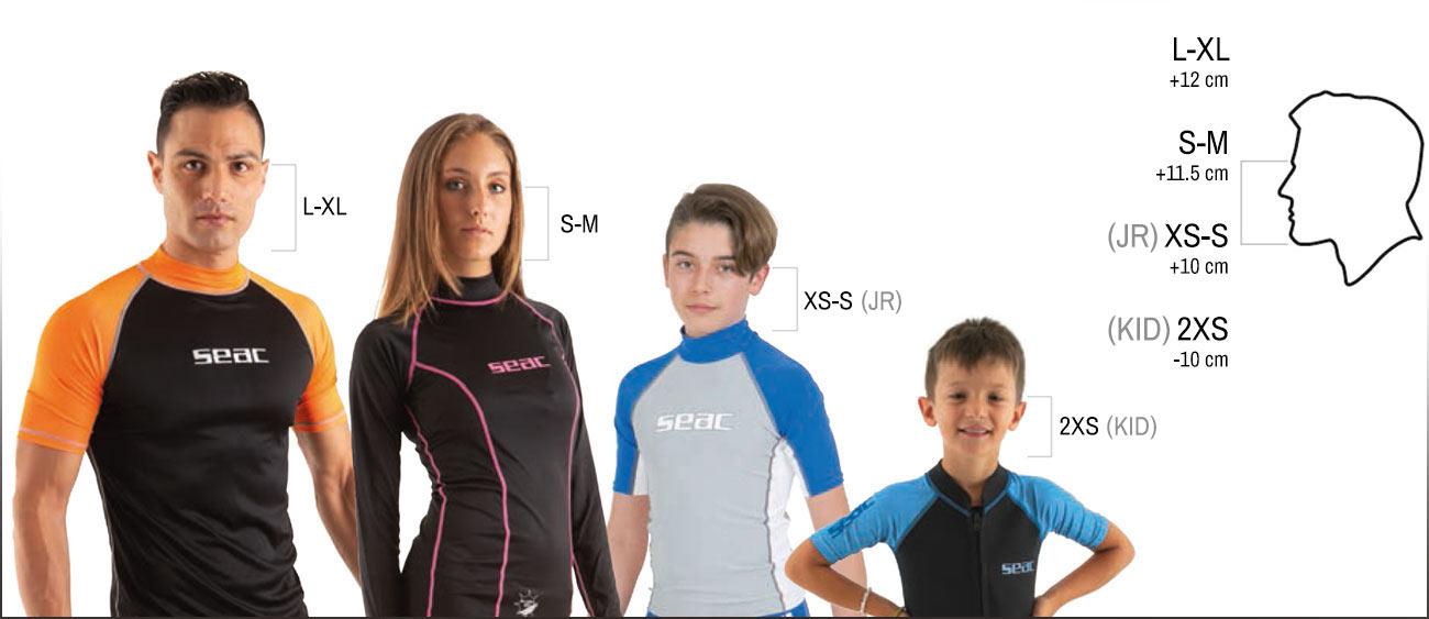 SEAC marimi masti snorkeling